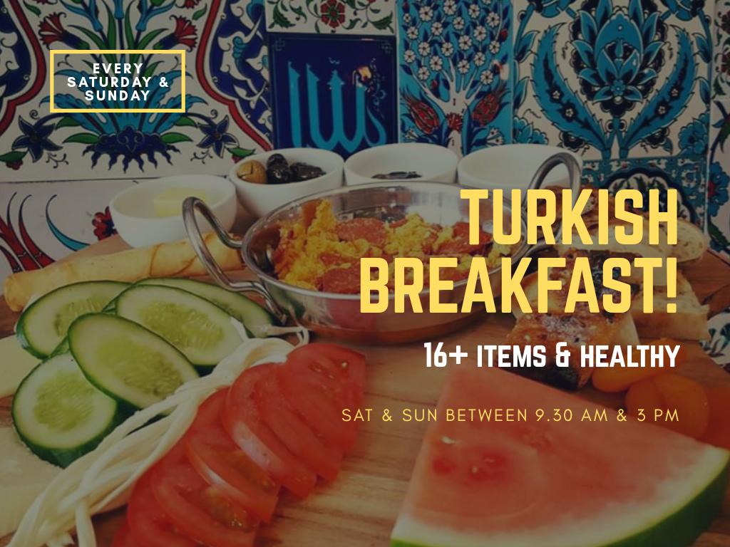 Taste of Turkey breakfast, turkish breakfast